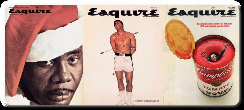 george-lois-esquire-magazine-covers