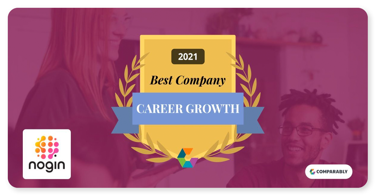 Nogin Ranks as One of Comparably's 'Best Companies for Career Growth in 2021'
